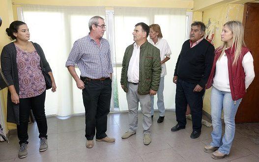 Visita del intendente Bertellys a Chillar