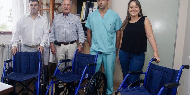 Donación de sillas de ruedas