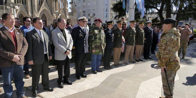 Acto conmemorativo del fallecimiento del General San Martín