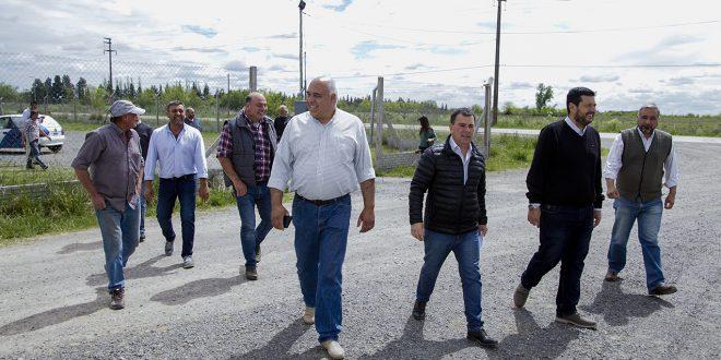 Se habilitará una playa de estacionamiento de camiones sobre Av. Mujica